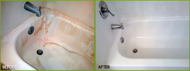 Chaotic Tub Before and After