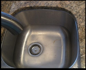 Stainless steel sink rust