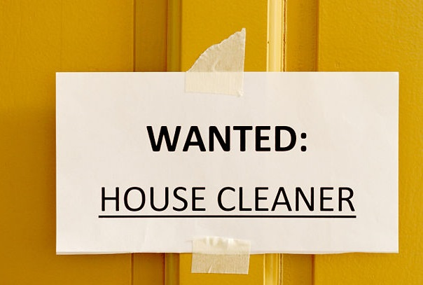 Wanted House Cleaner