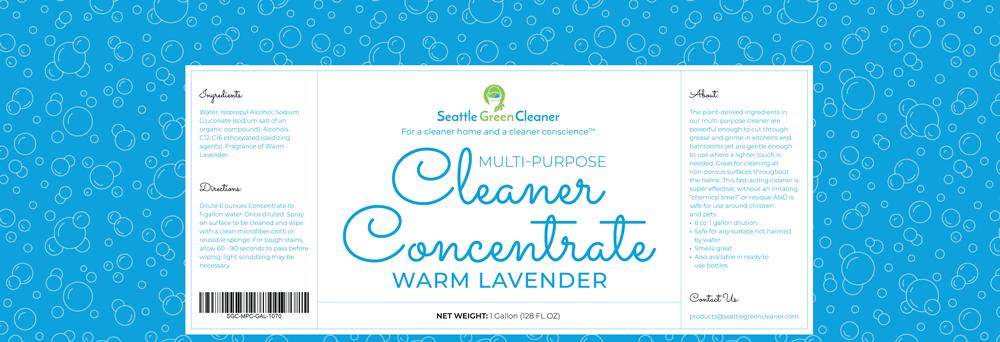 Multi – Purpose Cleaner Concentrate