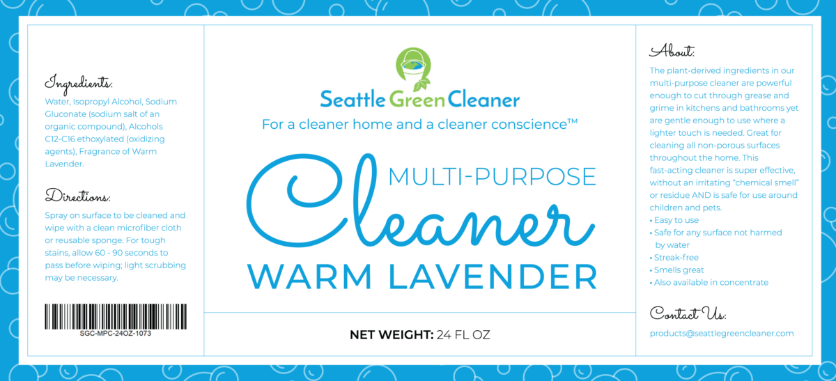 Multi – Purpose Cleaner