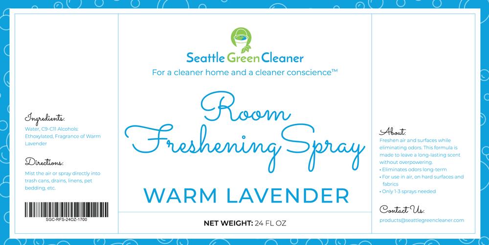 Room Freshening Spray