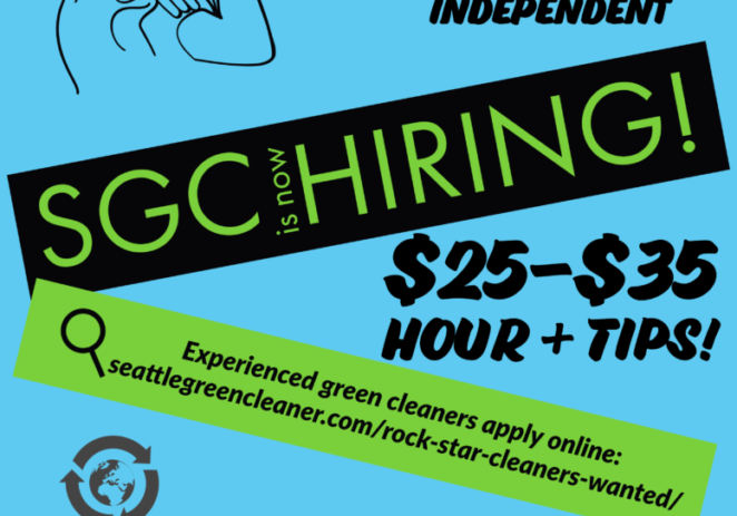 Rock star cleaners wanted